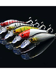 cheap -5 pcs Fishing Lures Hard Bait Minnow Crank Lure Packs Floating Bass Trout Pike Sea Fishing Bait Casting Freshwater Fishing Hard Plastic / Bass Fishing / Lure Fishing / Trolling & Boat Fishing