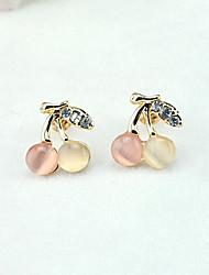 cheap -Women's Crystal Drop Earrings Ladies European Fashion 18K Gold Plated Rhinestone Gold Plated Earrings Jewelry Gold For / Imitation Diamond / Austria Crystal
