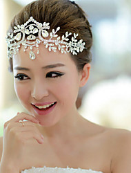 cheap -Acrylic Headbands with 1 Wedding / Special Occasion Headpiece