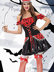 cheap -Pirates of the Caribbean Pirate Costume Cosplay Cosplay Nvzei clothing export real Halloween Costume