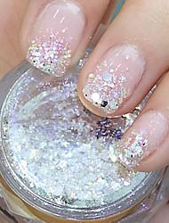 cheap -hexagonal glitter tablets nail art decorations