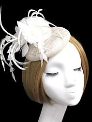 cheap -Women Fabric Hair Clip , Fashion Party Hat Headpiece