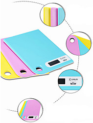 Недорогие -вес 13 мм ультра тонкий кухня цифровая шкала высокой точности 5кг 1г (случайный цвет)