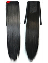 cheap -Toupee Others / Ponytails Cute / Curler & straightener Synthetic Hair Hair Piece Hair Extension Straight 18 inch Party / Halloween / Party Evening