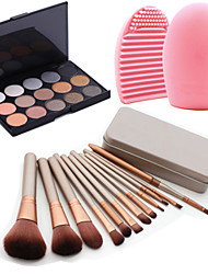 cheap -12pcs-cosmetic-makeup-tool-blush-foundation-brush-set-box-15colors-shimmer-eyeshadow-palette-1pcs-brush-cleaning-tool