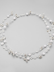 cheap -Imitation Pearl / Rhinestone / Alloy Headbands with 1 Wedding / Special Occasion Headpiece
