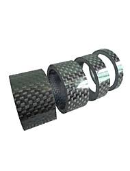 Недорогие -Стиральная машина для велосипедной гарнитуры Прочный Назначение Шоссейный велосипед Горный велосипед Велоспорт Углеродное волокно Черный