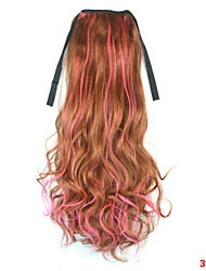 cheap -Ponytails Synthetic Hair Hair Piece Hair Extension Body Wave