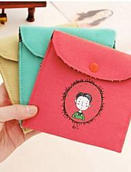 Недорогие -винтажный стиль детства подпись хлопка гигиенических салфеток сумка (ассорти цветов)