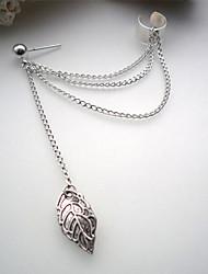 cheap -Women's Drop Earrings Clip on Earring One Earring cuff Earrings Jewelry Silver / Golden For Party Daily Casual