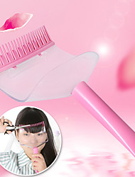 billige -frisør styling værktøjer hår pandehår skære supporter kam bang skæreværktøj (tilfældig farve)