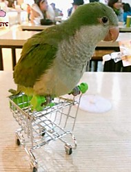 cheap -FUN OF PETS®Creative Mini Supermarket Shopping Cart Bird Toy for Birds (Random Colour)