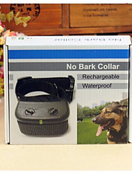 cheap -Dog Training Training Anti Bark Collar Shock Collar Electric Waterproof Anti Bark Rechargeable Nylon For Pets / Safety