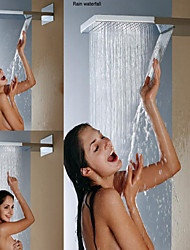 cheap -Contemporary Rain Shower Brushed Feature - Rainfall, Shower Head
