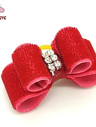 cheap -Cat Dog Hair Accessories Hair Bow Dog Clothes Costume Mixed Material Cosplay Wedding