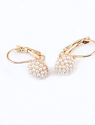 cheap -Women's Crystal Stud Earrings Ladies European Fashion 18K Gold Plated Rhinestone Gold Plated Earrings Jewelry For Wedding Masquerade Engagement Party Prom Promise / Imitation Diamond