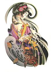Недорогие -1 Non Toxic С рисунком Нижняя часть спины Waterproof Прочее Временные тату