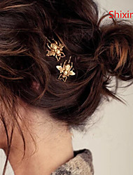 cheap -Women's Hairpins For Daily Casual Alloy Golden Silver