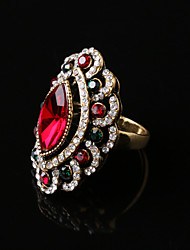 cheap -Party/Casual Fashion Vintage Alloy/Rhinestone/Gemstone & Crystal Statement Ring
