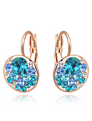 cheap -Party/Casual Gold Plated/Alloy/Fashion Hot Sale Cubic Zirconia Clip Earrings