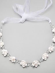 cheap -Imitation Pearl / Alloy Headbands / Headwear with Floral 1pc Wedding / Special Occasion Headpiece