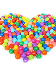 Недорогие -50шт нетоксичные безвкусный детей плаванию морская волна мяч (случайный цвет)