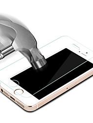 Недорогие -Защитная плёнка для экрана для Apple iPhone 6s Plus / iPhone 6 Plus / iPhone SE / 5s Закаленное стекло 1 ед. Ультратонкий