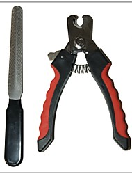 cheap -Delicate Metal Red Scissors Set for Dogs