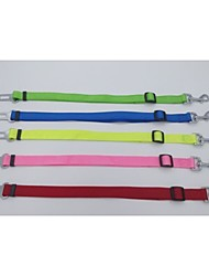 cheap -Colorful Pet Car Safety Seat Belt  For Dogs/Cats