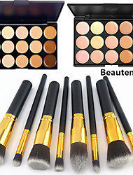 cheap -Professional Makeup Brushes Blush Brush 8pcs Eco-friendly Professional Full Coverage Synthetic Synthetic Hair / Artificial Fibre Brush for Blush Brush Eyeshadow Brush Powder Brush