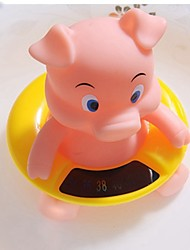 cheap -Cute Pig Shape Baby Water Thermometer Home-used