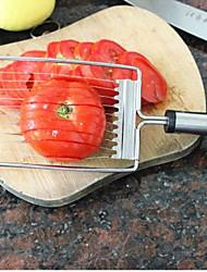 Недорогие -сталь помидор резки клубника-банан экологически нержавеющей с мягкими ручками