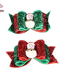 cheap -Cat Dog Hair Accessories Hair Bow Dog Clothes Costume Mixed Material Christmas New Year's