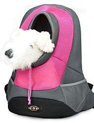 cheap -Cat Dog Carrier & Travel Backpack Fabric Pet Baskets Portable Breathable Red Green Blue