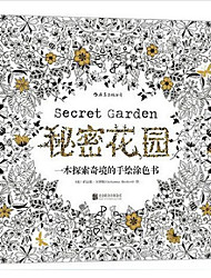 cheap -Secret Garden Treasure Hunt and Coloring Book For Children Adult Relieve Stress Kill Time Graffiti Painting Drawing Book