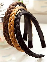 cheap -twisted wig braid hair bands hair braids headband bands headwear headband for women hairbands hair accessories