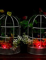 Недорогие -висит электрическая звук птица железная клетка домой кафе декоративные птицы гнездятся игрушки (случайный цвет)