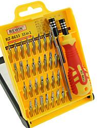 cheap -REWIN® TOOL 33Pcs Precision Eletronic Screwdriver Set Hand Tool Set