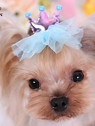 cheap -Cat / Dog Hair Accessories / Hair Bow Red / Blue / Purple Spring/Fall Wedding / Cosplay