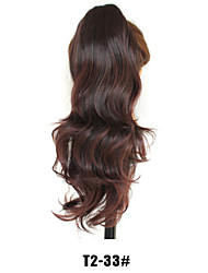 cheap -Ponytails Synthetic Hair Hair Piece Hair Extension Natural Wave