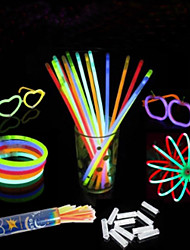 cheap -100 Pcs The Concert Will Cheer Props Fluorescence Stick(Colors Random)