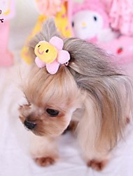 cheap -FUN OF PETS® Lovely Flower Shaped Hairpin for Pets Dogs