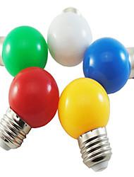 cheap -1pc 1 W LED Globe Bulbs 80 lm E26 / E27 G45 8 LED Beads SMD 2835 Party Decorative Christmas Wedding Decoration White Red Blue 220-240 V / 1 pc / RoHS