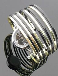 Недорогие -Жен. Повседневные часы Часы-браслет Кварцевый Золотистый Горячая распродажа Аналоговый Винтаж