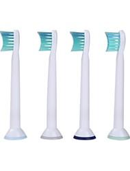 Недорогие -4шт Набор универсальный замена электрической зубной щетки головы мягкой щетиной hx6024 для Philips