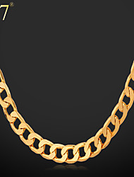 cheap -Women's Ladies Vintage Party Work Brass Gold Plated Gold Necklace Jewelry For Special Occasion Birthday Gift