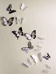 cheap -3D Wall Stickers Bedroom, Pre-pasted PVC Home Decoration Wall Decal