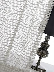 abordables -un panneau de mosaïque ivoire jacquard voilage drapé