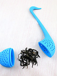 Недорогие -прекрасный лебедь формы силиконовые чай для заварки вешалка (случайный цвет)