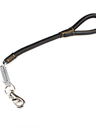 cheap -High-grade Leather Large Dog In Short Leashes